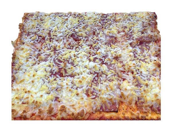 Pizzas de bacon