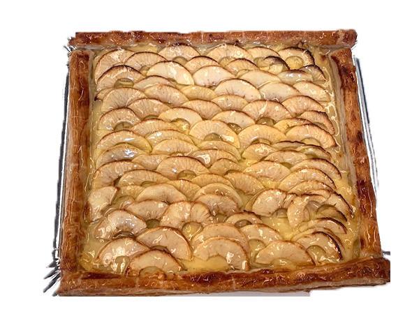Tarta de manzana grande